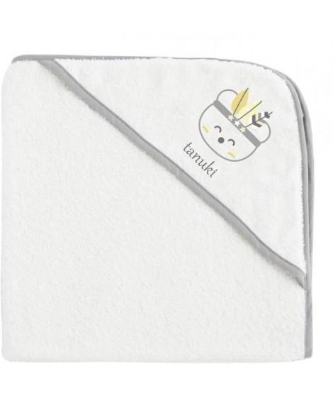 TANUKI Sortie de bain et gant Indian - 100% coton - 75x75 cm