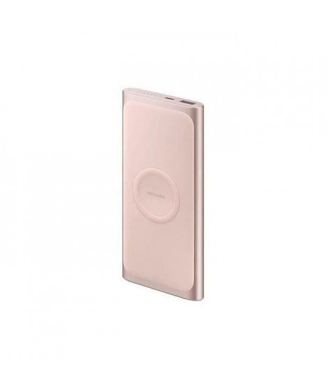 Samsung Batterie externe 10A charge rapide sans fil (induction) Rose Gold