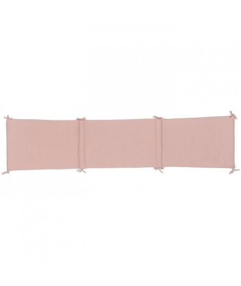 NATTOU - Pure rose Tour de lit coton 180x40cm