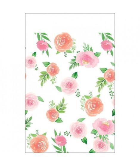 AMSCAN Nappe papier Floral Baby 137 x 259 cm