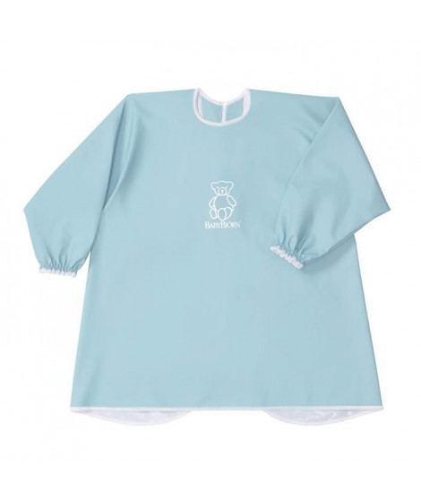 BABYBJORN - Bavoir a Manches Longues, Turquoise