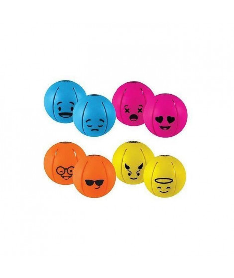 GOLIATH  -  jeu plein air - Phlatball Mini Smiley (asst red, blue, orange, yellow)