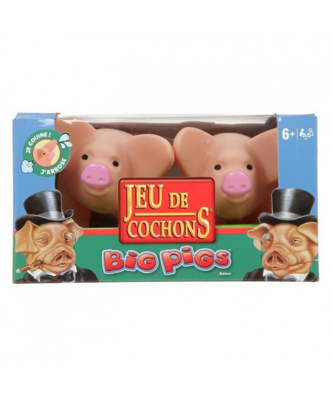 JEU DE COCHONS - Big Pigs - Version française
