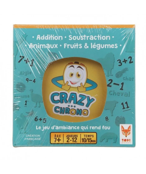 TOPI GAMES Crazy Chrono Faune - Jeux d'ambiance