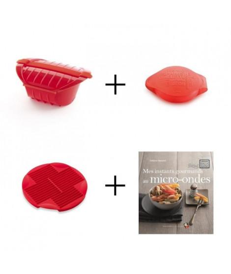 Pack Convivialité: Cocotte XL + Omelette maker + Moule a stick + Livre de recettes