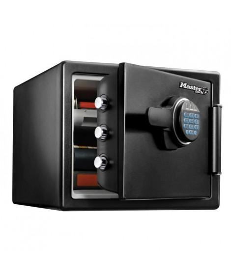 MASTER LOCK Coffre-fort de sécurité a combinaison électronique ignifugé et résistant a l'eau 22 Litres