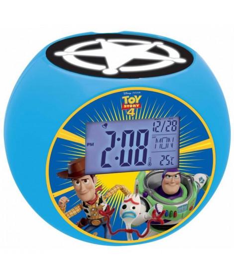 LEXIBOOK - Toy Story 4 - Radio Réveil Enfant avec Projections d'Images