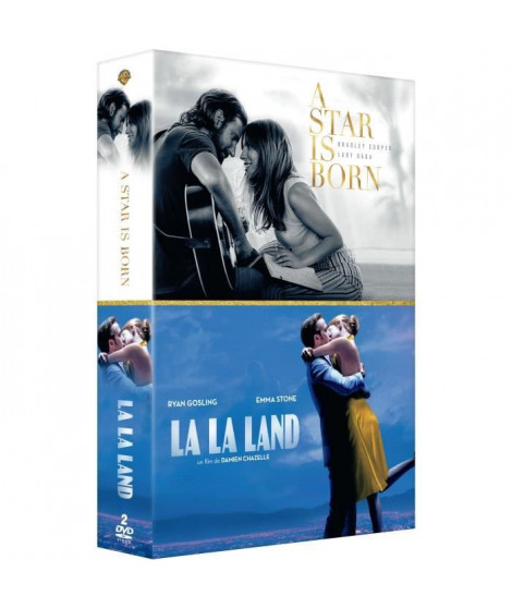 Coffret DVD Romance Musicale : A Star Is Born / La La Land