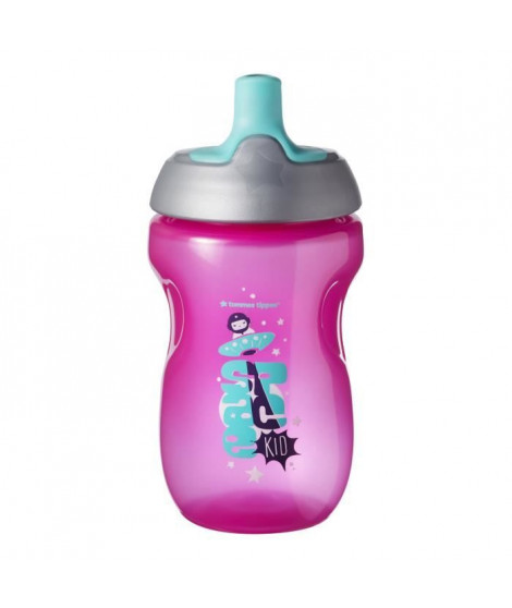TOMMEE TIPPEE Tasse Sporty pour enfant - rose - 12 mois +