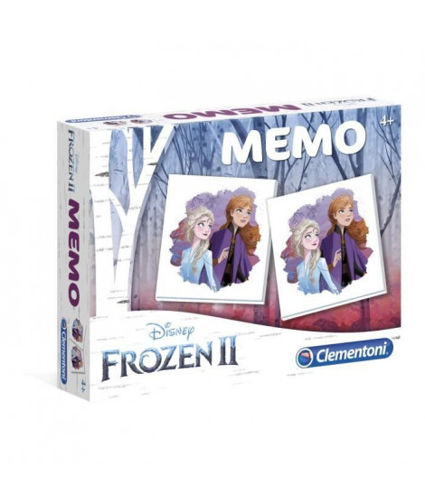 CLEMENTONI Mémo - La Reine des Neiges 2 - Jeu de mémorisation