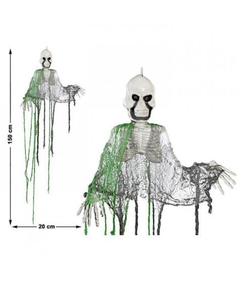 ATOSA - Squelette a suspendre pvc 150 x 20 cm (Lot de 3)