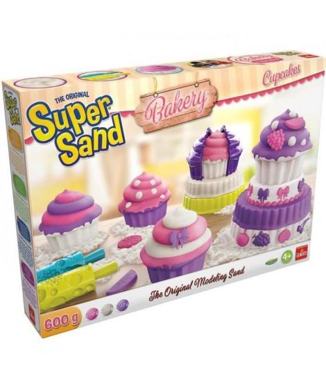 Goliath - Super Sand Cupcakes - Loisir créatif - Sable a modeler
