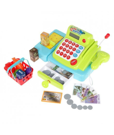 CASH REGISTER -  Set de caisse enregistreuse