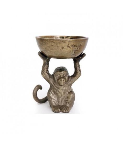 Bol avec singe doré - 14x10,5cm (Lot de 2)