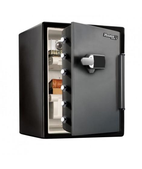 MASTER LOCK Coffre-fort sécurité a combinaison électronique - Noir et gris anthracite