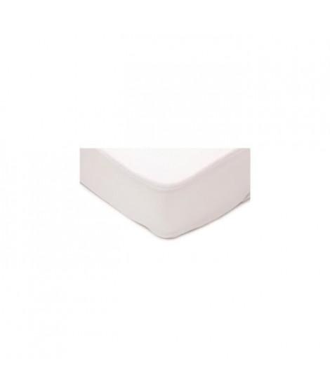 DOMIVA Protege matelas transalese 70x140cm - Blanc
