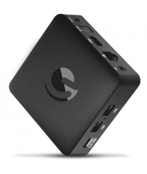EMATIC SRT202 Box Android TV  UHD 4K - Netflix - You Tube - Google - Lecteur multimedia Smart TV (Wifi, LAN, Bluetooth, IPTV,…