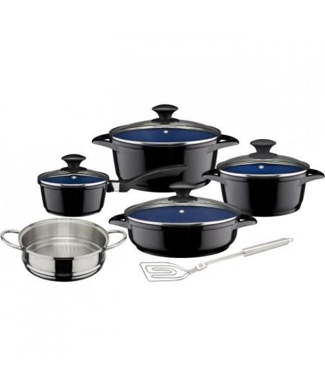 GSW Ceramica - Batterie de cuisine 9 pieces - Cobalt - Tous feux dont induction