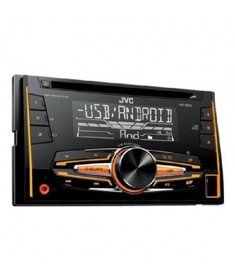 JVC KW-R520 Autoradio 2 DIN CD USB Android VarioColor 1