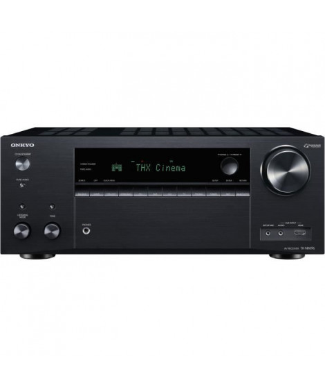 ONKYO TX-NR696 Noir - Ampli-tuner Home Cinéma 7.2 - 165 Watts - THX - Dolby Atmos/DTS:X - HDMI 4K/60p - Bluetooth 4.2 - Wi-Fi