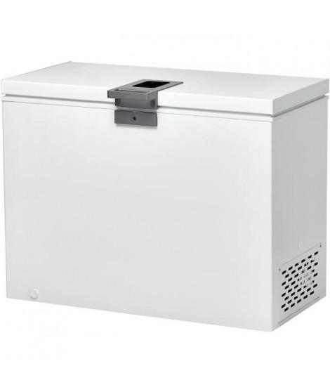 CANDY CMCH252 - Congélateur coffre - 255 L - Froid statique - A+ - L 111 x H 84,5 cm - Blanc