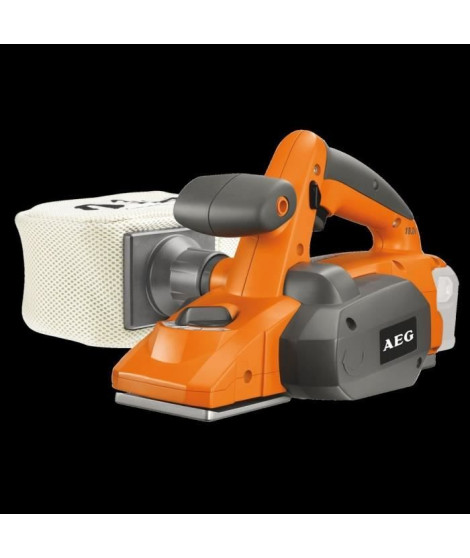 AEG POWERTOOLS Rabot 18Volts, largeur 82mm (sans batterie)