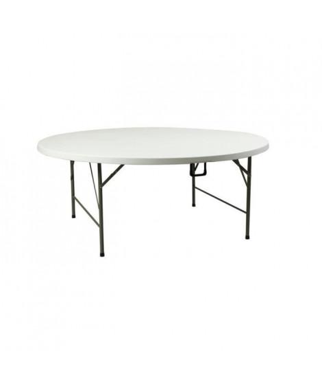 INNOV'AXE Table Pliante Camping - Ronde - Ø 183 Cm