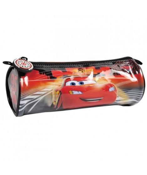 CARS Trousse rond - 21 x 7,5 x 7 cm - PVC (Lot de 3)