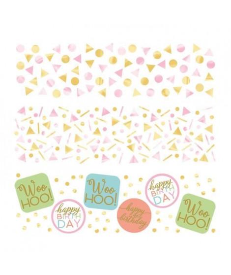 AMSCAN Confettis 34 gr Confetti Fun (Lot de 3)