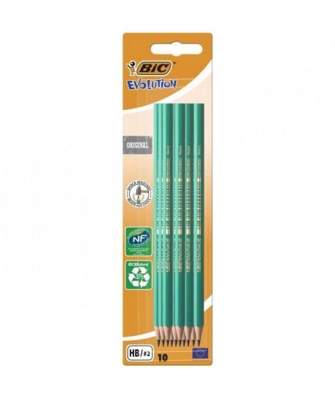 BIC - Evolution Evolution? 650 Crayon HB x10 (Lot de 3)