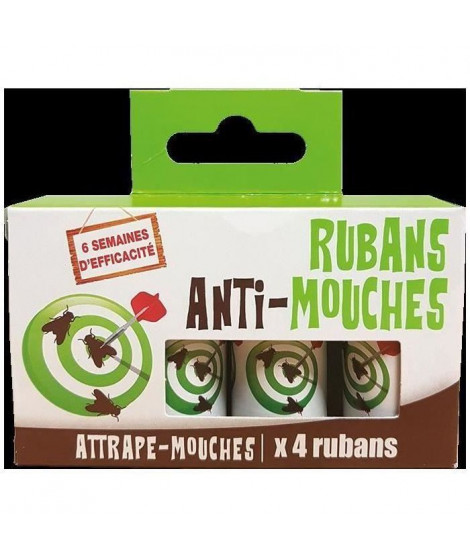 NONA 4 rubans anti-mouches (Lot de 3)