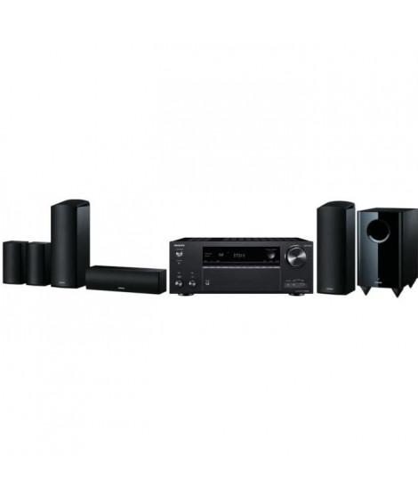 ONKYO TX-NR686E Ampli-tuner 7.2 4K - Bluetooth - Wifi + SKS -HT588 Systeme d'enceintes Home Cinéma  5.1.2 - 650W - Dolby Atmo…