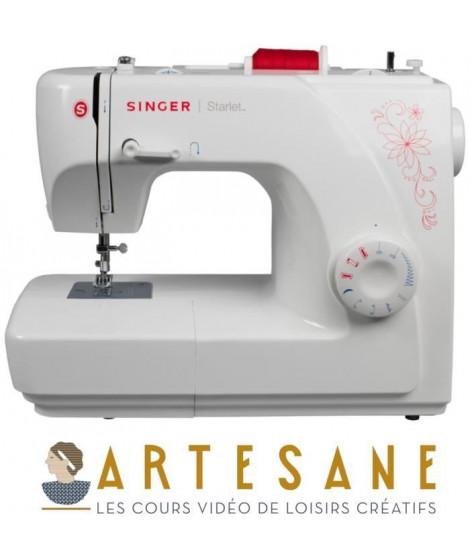 SINGER Machine a coudre Starlet Artesane + cours de couture avec ARTESANE