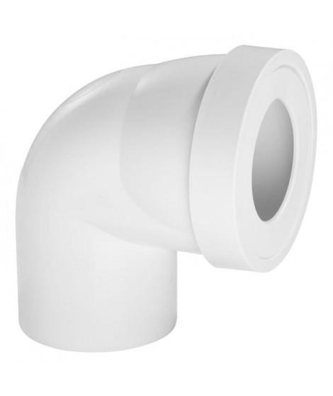 WIRQUIN Pipe rigide courte - Coudée male - Ø 100 mm