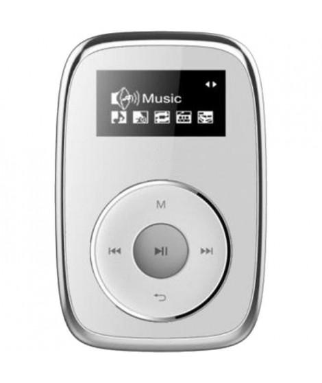 MPMAN Baladeur MP3 Clipsy - MP3/WMA - Lecteur de carte micro SD jusqu'a 16Go - USB