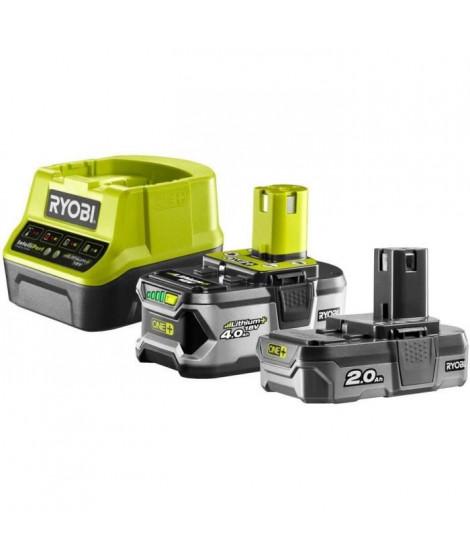 RYOBI batterie 4,0Ah + batterie 2,0Ah et 1 chargeur