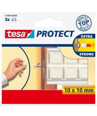 TESA Tampons antichocs - Ø 10mm - Blancs