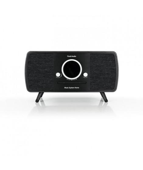 TIVOLI Music System Home - Systeme HiFi - CD, Bluetooth, WiFi, AM, FM, DAB/DAB+ ART line - Noir