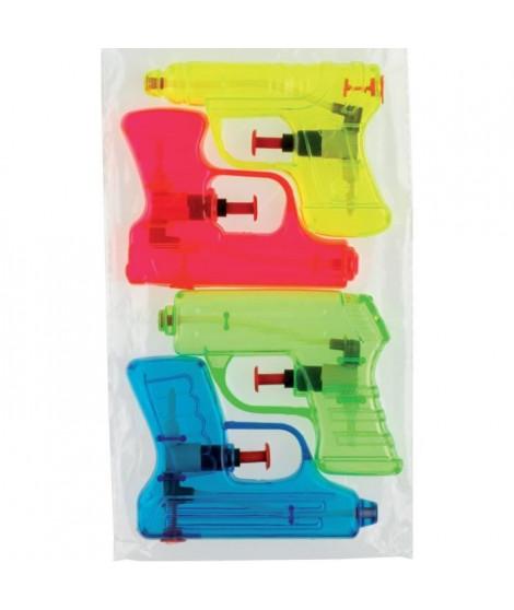 KIM'PLAY 4 Pistolets a eau - 12 cm