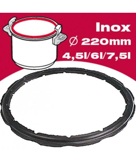 SEB Joint autocuiseur inox 792350 4,5-6-7,5L Ø22cm noir