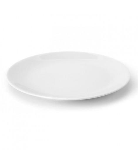 TTD Lot 6 ass plates A04957/01 26cm - blanc