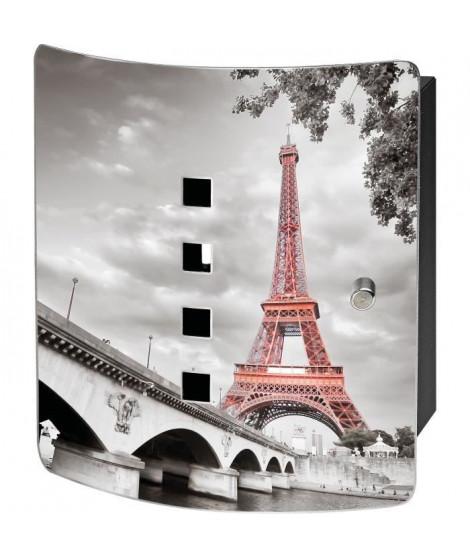 BURG-WÄCHTER Armoire a clés 6204/10 Ni Tour Eiffel