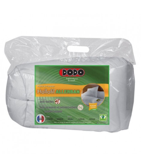 DODO Traversin HOLLOFIL ALLERBAN Anti-Tâches 140cm