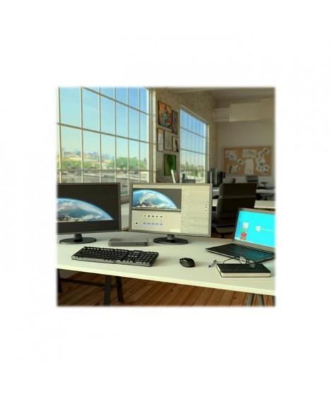 STARTECH.COM Station d'accueil Thunderbolt 3 double 4K - Pour ordinateur portable - Windows et Mac