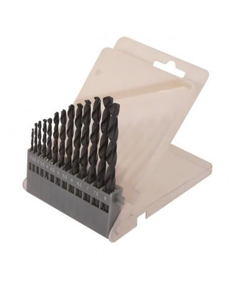 SMARTOOL Coffret de 13 forets métal ø 2-8 mm pour usage courant