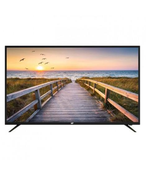 CONTINENTAL EDISON TV LED 50' 4K UHD 3xHDMI 2x USB Port optique 2x8 watts RMS
