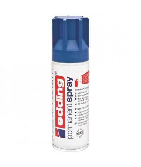 EDDING Spray acrylique E5200 - 200 ml - Bleu gentiane