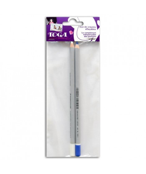 TOGA Duo Crayons Aquarellables