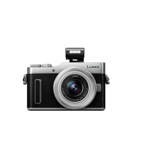 PANASONIC Hybride Compact Lumix DC-GX880KEFS - Noir + Lumix 12-32 F3.5-5.6 (Capteur 4/3 16MP, AF DFD, Vidéo 4K, WiFi)