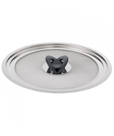 TEFAL Couvercle anti-projection Ingenio - Inox - 24/30 cm